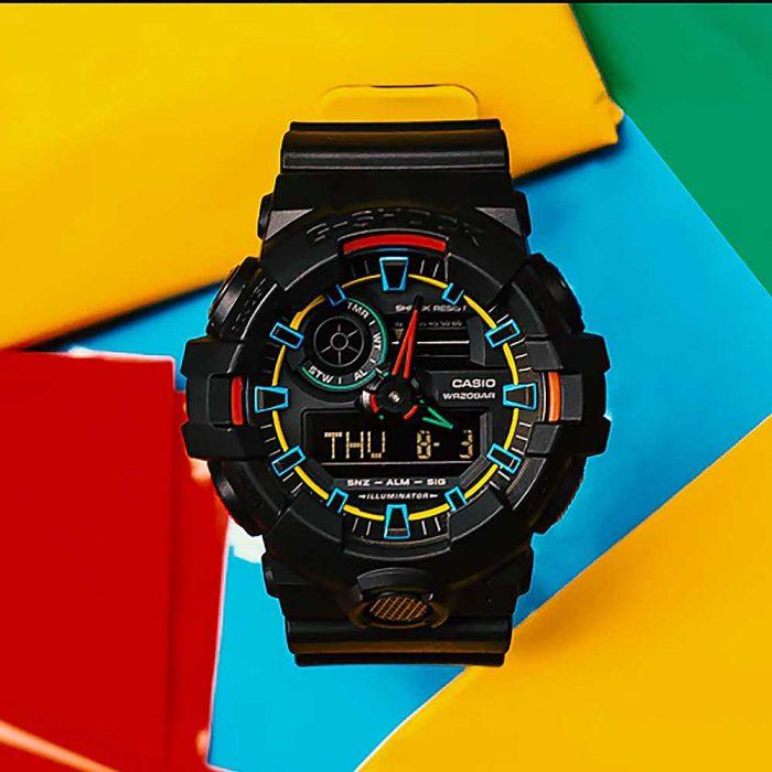 שעון יד ג'י-שוק GA-700SE-1A9