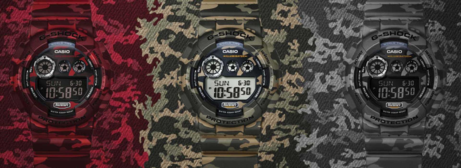 שעוני ג'י שוק לחיילים