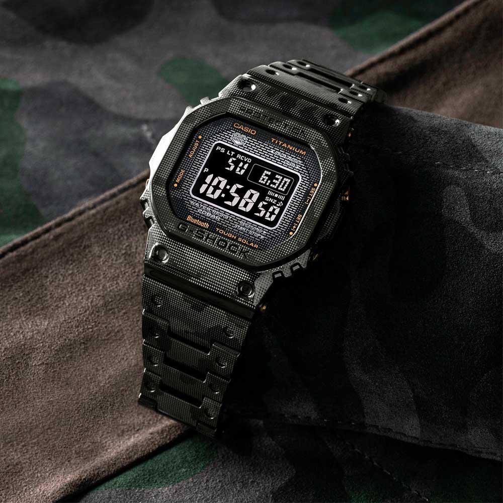 שעון יד ג'י-שוק דיגיטלי טיטניום. אחרי מחקר מעמיק ופיתוחים חדישים בתחום החומרים.